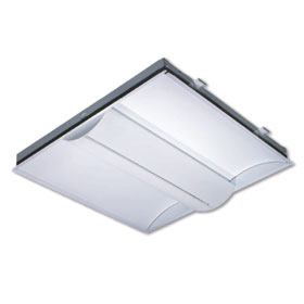 LICDS 2 x 2 2-Lamp 14W T5 Fluorescent Recessed Indirect Lay-In Fixture EM