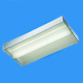 Parlume 2 x 4 2-Lamp T8 Fluorescent Recessed Direct-Indirect Luminaire