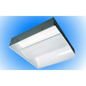 LIC 2 x 2 2-Lamp 24W T5HO Fluorescent Recessed Indirect Lay-In Fixture