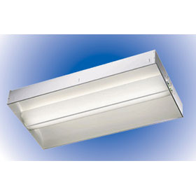 2 x 2 2-Lamp 24W T5 Fluorescent Semi-Recessed Direct/Indirect Lay-In Fixture