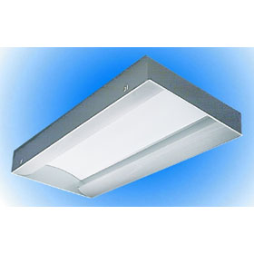 LIS 2 x 4 2-Lamp 28W T5 Fluorescent Recessed Direct/Indirect Lay-In Fixture