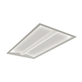PureFX 2 x 4 54W T5HO Fluorescent Recessed Direct/Indirect Fixture 120V
