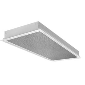 35 Series 2 x 4 3-Lamp T8 Fluorescent High Efficiency Recessed Lens Troffer