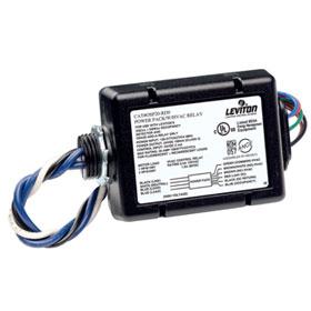 Black 120/277V Add-A-Relay for Occupancy Sensor with HVAC Relay
