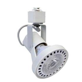 Lytespan White PAR30 Gimbal Ring Track Head Luminaire