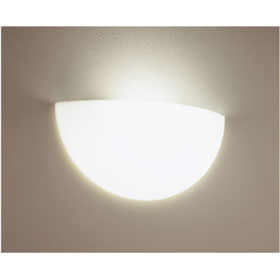 Cirrus White 26-42W Fluorescent Wall Sconce