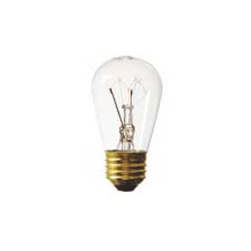 Rough Service 11W S14 Clear Incandescent Lamp