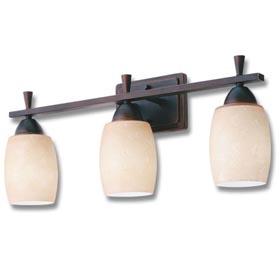 Ferros Antique Bronze 13W 2-Light Vanity Fixture