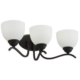 Blackwell Bronze Dark Brown 2-Lamp 13W Fluorescent Vanity Fixture