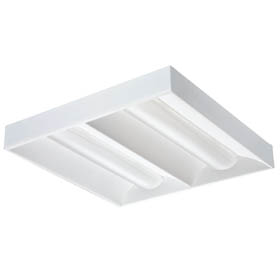 2RT5 2 X 2 14W T5 Fluorescent Recessed Volumetric Downlight Fixture