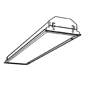 Frame for SP8 1x4 Light Fixture, 14M