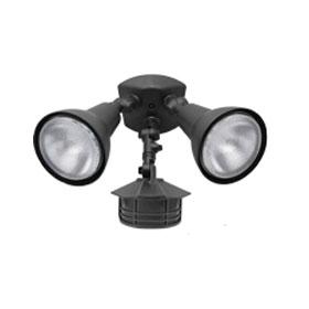 White Dual 150W PAR38 Motion Sensor Flood Light