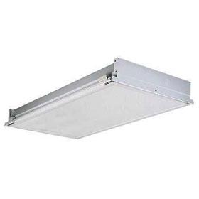 SRT 2 x 4 3-Lamp T5 Fluorescent Recessed Cleanroom Troffer
