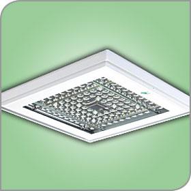Crossover White 162W 5300K LED Enhanced Symmetric Ambient Canopy Light