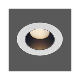 Round Wide Aperture MR16 Downlight Non-IC Housing 120V