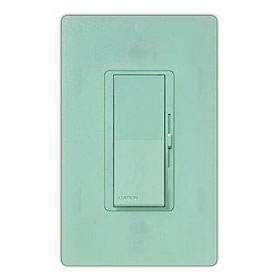 Diva Sea Glass 3-Way Magnetic Low Voltage 800W Preset Dimmer with Nightlight
