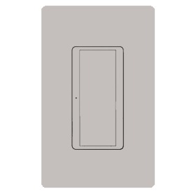 Maestro Wireless MRF2-8ANS-120 Taupe 8A Switch