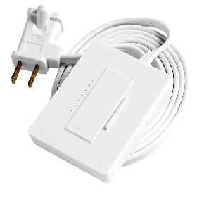 Maestro Wireless MRF2-3LD White Plug-In Lamp Dimmer