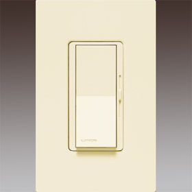 DVLV-603P Almond 450W Magnetic Low Voltage Preset Three Way Dimmer