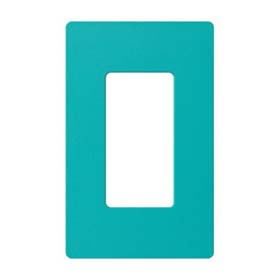 Claro SC-1 Turquoise 1-Gang Wall Plate