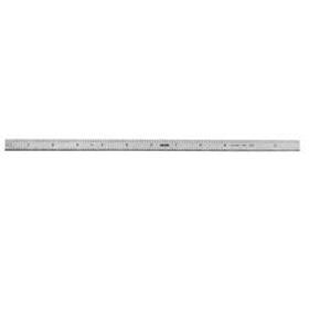 Industrial Precision 12 in. x 15/32 in. Flex Steel Ruler