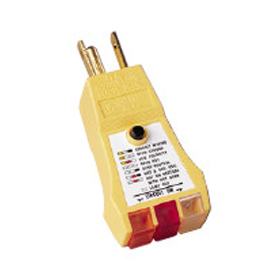 3 Wire Circuit Tester with GFCI