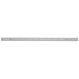 Ultratest 12 in. x 1/2 in. Flex Steel Rule, Grads: Side 1 (10,100), Side 2 (mm, .5mm)