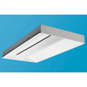 Ovation Series 2 x 4 3-Lamp 32W T8 Fluorescent Recessed Direct-Indirect Luminaire