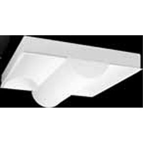 Ovation Series 2 x 2 2-Lamp 17W T8 Fluorescent Recessed Direct-Indirect Luminaire
