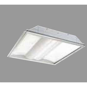 ArcLine 2 x 2 2-Lamp 17W T8 Fluorescent Recessed Troffer Fixture