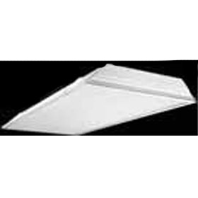 GC8 Series 2 x 4 2-Lamp 32W T8 Fluorescent Recessed Troffer, Acrylic Pattern