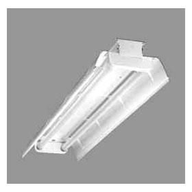 DMF 2-Lamp 32W T8 Fluorescent Reflector Fixture