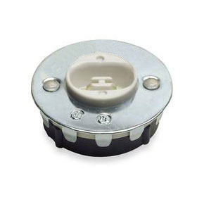 Fluorescent High Output Snap In Button Lampholder