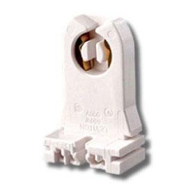 23351 Medium Bi-Pin Low Profile Slide-On Turn Type Shunted T8 Lampholder