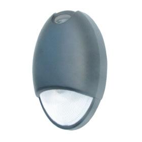 Mako Black 10W 5000K Architectural LED Emergency Light