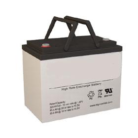 12V AGM Design Valve Regulated Lead-Acid Emergency Battery