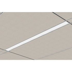 Gen II 22DR Straight and Narrow 4 ft. T5 Fluorescent Recessed Troffer 1% Dimming Fixture 277V