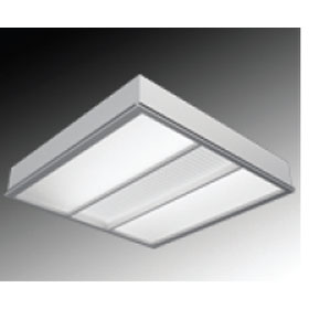 Luminous HE 2 x 4 2-Lamp T5 Fluorescent Recessed Direct-Ambient Luminaire, High Transmission Diffuse