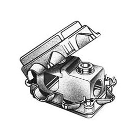Dual-Rated AL/CU Tee Tap Connector 2-12 4-14