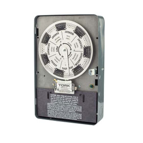 7 Day Time Switch 40A 120V 4PST Indoor Enclosure