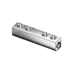 Dual-Rated AL/CU Splicer Reducer Lug, 350 MCM to 6 AWG