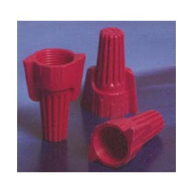 Easy-Twist Red Winged Wire Connector 18-8 AWG, 100/Jar