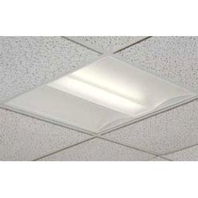 Converj 2 X 2 2-Lamp 14W T5 Fluorescent Recessed Direct/Indirect Luminaire 277V