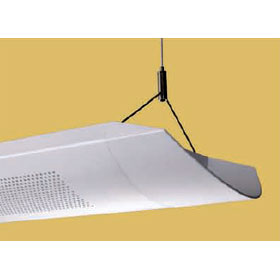 Glide G9R 12 ft. 6-Lamp T8 Fluorescent Perforated Panel Direct/Indirect Dimming Luminaire