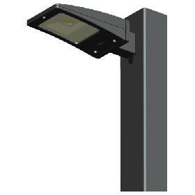 ALED 10W 5250K LED Pole Mount Area Light