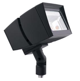 FUTURE FLOOD 26W LED NEUTRAL ARM ON-OFF 7X6 BRONZE