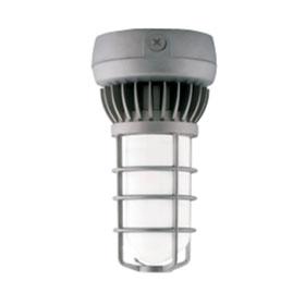 Natural Aluminum 13W 3000K LED Vaporproof Ceiling Mount