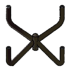 4 Fixture Pole Top Mounting