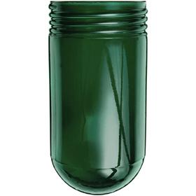 Vaporproof 100 Series Green Glass Globe