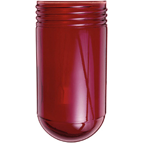 Vaporproof 100 Series Red Glass Globe